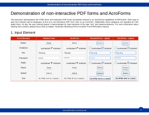 Samples - PDFreactor